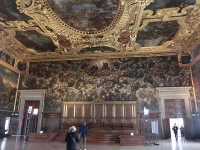 """Tintorettos """"Paradies"""" im Saal des Großen Rates"""